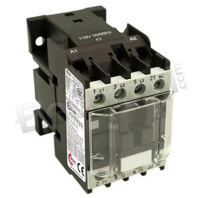 Telemecanique LC1-D1201 Contactor With F7 110Volt Coil LC1D1201