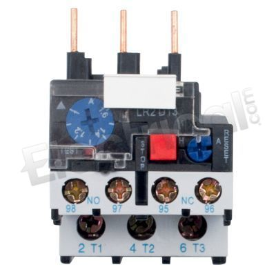 Telemecanique Motorschutzrelais LR2D1304 Thermal Overload Relay 0,4-0,63A 023253