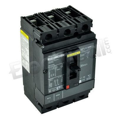 NEW SQUARE D CIRCUIT BREAKER 90 AMP HDL36090