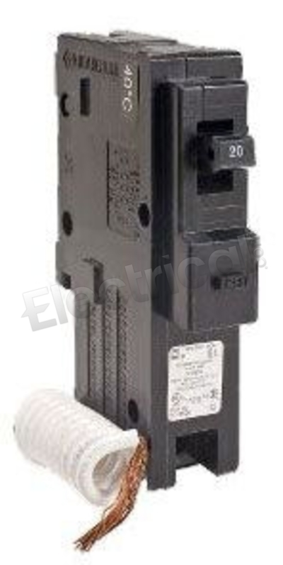 Square D HOM120GFI 20 Amp Circuit Breaker new Ground fault 20A NEW 120v