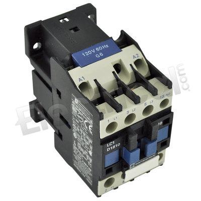 10 HP//480V New Telemecanique LC1D1810G6 Contactor 120 V Coil