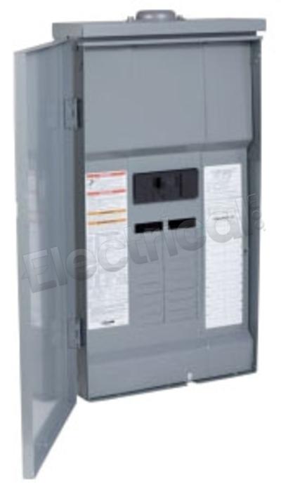 SQUARE D QO120M100 100A 1-Phase Main Circuit Breaker Convertible Load Center