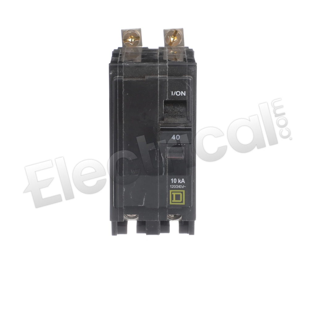 Details about  /QOB240GFI Bolt-On Circuit Breaker 40A 240V QOB QOB Series Square D Molded Case L