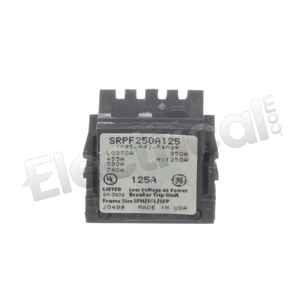 125 Amp Rating Plug GE SRPF250A125