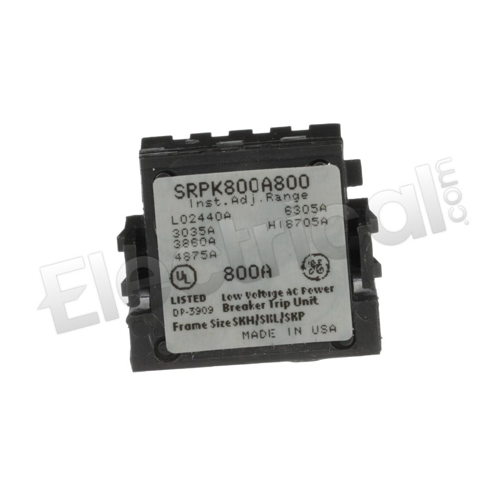 SRPK800A800 GENERAL ELECTRIC 800AMP RATING PLUG NEW