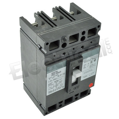 GE TED134090 3 Pole 90 Amp Molded Case Circuit Breaker